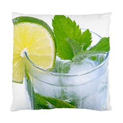 Cold Drink Lime Drink Cocktail Standard Cushion Case (one Side) by Amaryn4rt