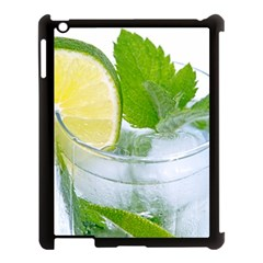 Cold Drink Lime Drink Cocktail Apple Ipad 3/4 Case (black) by Amaryn4rt