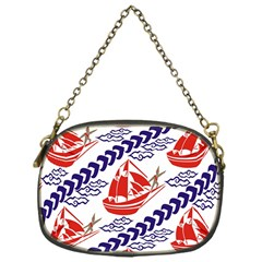 Sailing Boat Chain Purses (one Side)  by Jojostore