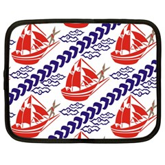 Sailing Boat Netbook Case (xxl)