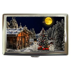 Christmas Landscape Cigarette Money Cases by Amaryn4rt