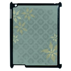 Shadow Flower Apple Ipad 2 Case (black)