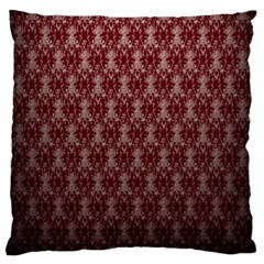 Red Vintage Large Cushion Case (two Sides) by Jojostore
