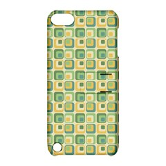 Square Green Yellow Apple Ipod Touch 5 Hardshell Case With Stand