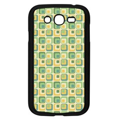 Square Green Yellow Samsung Galaxy Grand Duos I9082 Case (black) by Jojostore