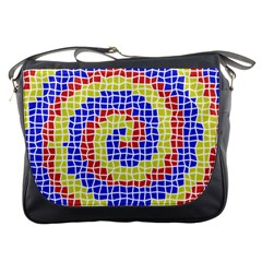 Red Blue Yellow Messenger Bags