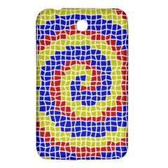 Red Blue Yellow Samsung Galaxy Tab 3 (7 ) P3200 Hardshell Case  by Jojostore