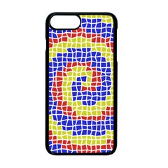 Red Blue Yellow Apple Iphone 7 Plus Seamless Case (black) by Jojostore