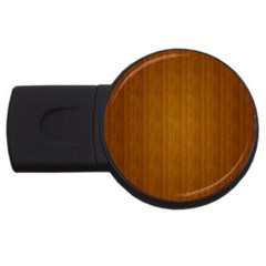 Simple Wood Widescreen Usb Flash Drive Round (4 Gb)  by Jojostore