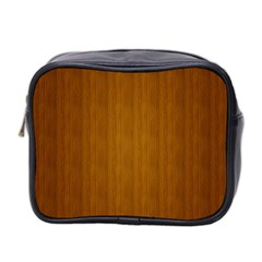 Simple Wood Widescreen Mini Toiletries Bag 2 Side