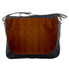 Simple Wood Widescreen Messenger Bags