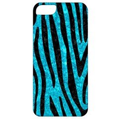 Skin4 Black Marble & Turquoise Marble Apple Iphone 5 Classic Hardshell Case by trendistuff