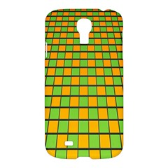Tile Of Yellow And Green Samsung Galaxy S4 I9500/i9505 Hardshell Case