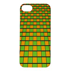Tile Of Yellow And Green Apple Iphone 5s/ Se Hardshell Case