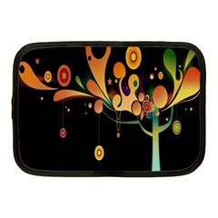 Tree Circle Orange Black Netbook Case (medium)  by Jojostore