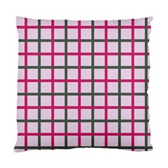 Tiles On Light Pink Standard Cushion Case (one Side) by Jojostore