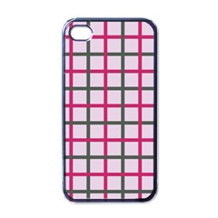 Tiles On Light Pink Apple Iphone 4 Case (black) by Jojostore