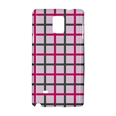 Tiles On Light Pink Samsung Galaxy Note 4 Hardshell Case