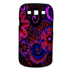 Sunset Floral Flower Red Pink Jewel Box Samsung Galaxy S Iii Classic Hardshell Case (pc+silicone) by Jojostore