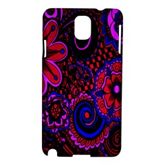 Sunset Floral Flower Red Pink Jewel Box Samsung Galaxy Note 3 N9005 Hardshell Case by Jojostore