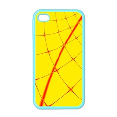 Yellow Redmesh Apple Iphone 4 Case (color)