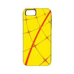Yellow Redmesh Apple Iphone 5 Classic Hardshell Case (pc+silicone)