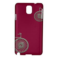 Rose Pink Fushia Samsung Galaxy Note 3 N9005 Hardshell Case by Jojostore