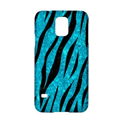 Skin3 Black Marble & Turquoise Marble (r) Samsung Galaxy S5 Hardshell Case  by trendistuff