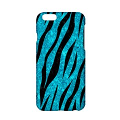 Skin3 Black Marble & Turquoise Marble (r) Apple Iphone 6/6s Hardshell Case by trendistuff