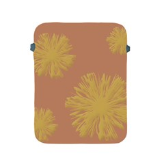 Flower Yellow Brown Apple Ipad 2/3/4 Protective Soft Cases