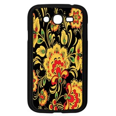 Flower Yellow Green Red Samsung Galaxy Grand Duos I9082 Case (black) by Jojostore