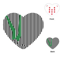 Girl Collective Artists Playing Cards (heart)  by Jojostore
