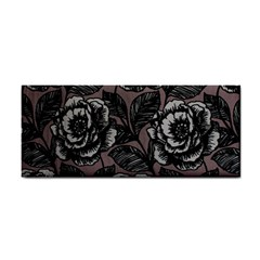 Gray Flower Rose Cosmetic Storage Cases