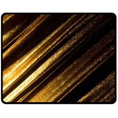 Gold Fleece Blanket (medium)  by Jojostore