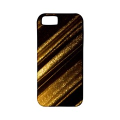 Gold Apple Iphone 5 Classic Hardshell Case (pc+silicone)