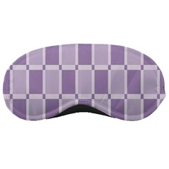 Gray Purple Sleeping Masks