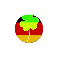 Irish German Germany Ireland Funny St Patrick Flag Golf Ball Marker (4 Pack) by yoursparklingshop