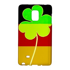 Irish German Germany Ireland Funny St Patrick Flag Galaxy Note Edge