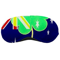 Irish Australian Australia Ireland Shamrock Funny St Patrick Flag Sleeping Masks