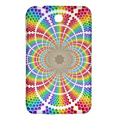 Color Background Structure Lines Samsung Galaxy Tab 3 (7 ) P3200 Hardshell Case  by Amaryn4rt