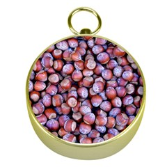 Hazelnuts Nuts Market Brown Nut Gold Compasses by Amaryn4rt