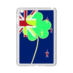 Irishshamrock New Zealand Ireland Funny St Patrick Flag Ipad Mini 2 Enamel Coated Cases by yoursparklingshop