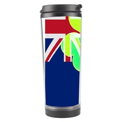 Irishshamrock New Zealand Ireland Funny St Patrick Flag Travel Tumbler by yoursparklingshop