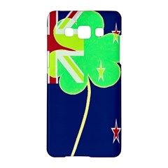 Irish Shamrock New Zealand Ireland Funny St  Patrick Flag Samsung Galaxy A5 Hardshell Case  by yoursparklingshop