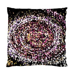 Mosaic Colorful Abstract Circular Standard Cushion Case (one Side) by Amaryn4rt