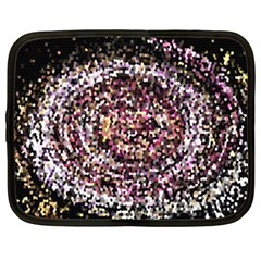 Mosaic Colorful Abstract Circular Netbook Case (xxl)