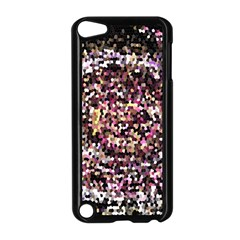 Mosaic Colorful Abstract Circular Apple Ipod Touch 5 Case (black) by Amaryn4rt