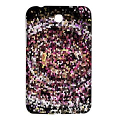 Mosaic Colorful Abstract Circular Samsung Galaxy Tab 3 (7 ) P3200 Hardshell Case  by Amaryn4rt