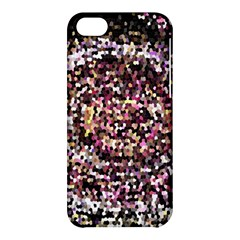 Mosaic Colorful Abstract Circular Apple Iphone 5c Hardshell Case