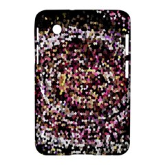 Mosaic Colorful Abstract Circular Samsung Galaxy Tab 2 (7 ) P3100 Hardshell Case  by Amaryn4rt